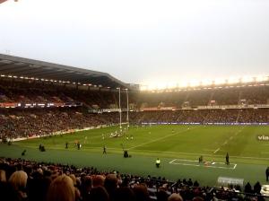 Un momento di Scozia-Sud Africa, viagogo Autumn Tests 2013
