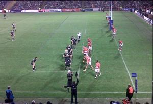 Un momento di Scozia-Tonga del novembre 2012 (mia foto)