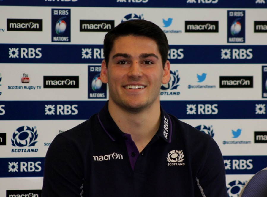 Sam Hidalgo-Clyne Scotland 6 Nations