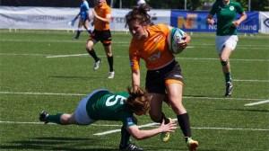 L'Irlanda Sevens Femminile proverà a conquistare il diritto di giocare nel core della Women's Sevens World Series (Credit: IRB/Paul Grolle)