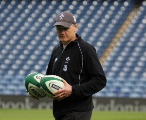 Joe Schmidt è alla guida dell'Irlanda dal 2013. Ha conquistato due 6 Nations consecutivi (Credit: Jason O'Callaghan)