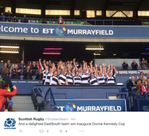 (Screenshot profilo Twitter ufficiale Scottish Rugby)