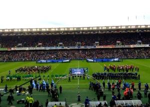 La Scozia è riuscita a battere l'Irlanda (mia foto)