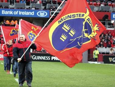Munster rugby bandierone