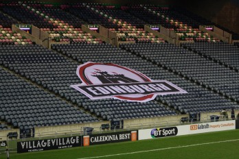 edinburgh logo spalti bt murrayfield