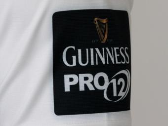 zebre maglia 2015/16 logo guinness pro12