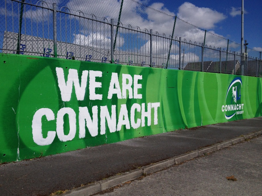 we are connacht murale