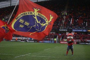 Munster Rugby bandiera mascotte