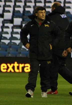 Daniel Hourcade Argentina head coach los pumas