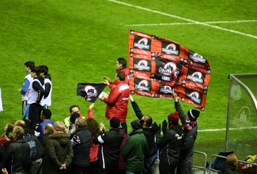 edinburgh rugby bandiera tifosi murrayfield