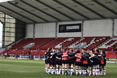 scozia femminile gruppo Broadwood Stadium Cumbernauld