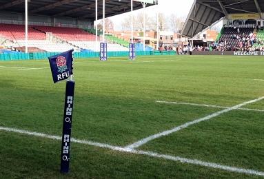 RFU logo rosa inghilterra femminile rugby