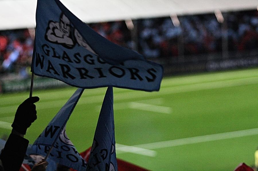 Glasgow Warriors bandiera particolare champions cup 2017