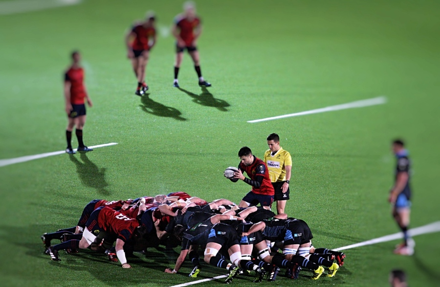 warriors munster scrum champions cup 2017