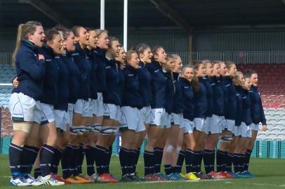 Scozia Femminile gruppo inno 6 nations femminile