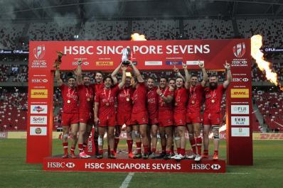 Canada vince Singapore Sevens