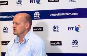 Gregor Townsend Scozia head coach
