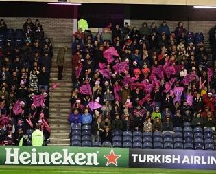 Stade Français tifosi supporters