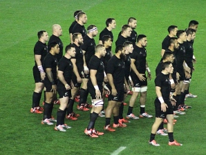 All Blacks haka Murrayfield 2015