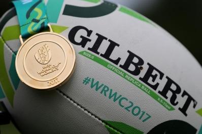 ovale WRWC 2017 e medaglia d'oro